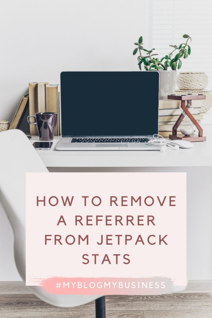 How to remove a referrer from Jetpack stats